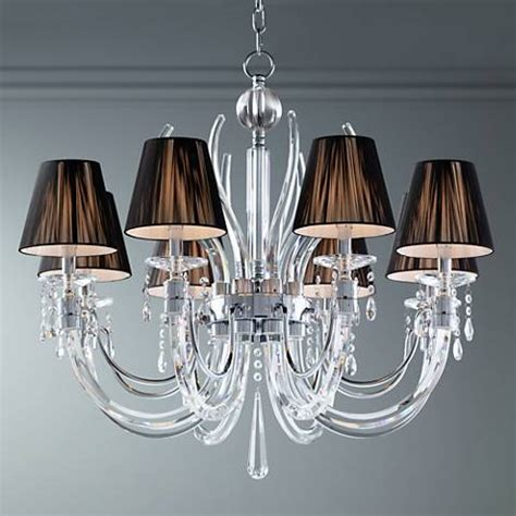 ls plus vienna full spectrum vienna full spectrum chrome crystal chandelier with led