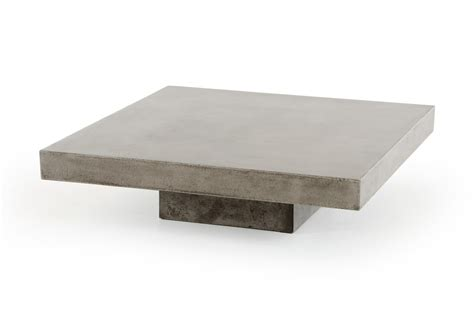 Concrete Coffee Table Top Benciveni Concrete Top Coffee Table Concrete Square Coffee Table