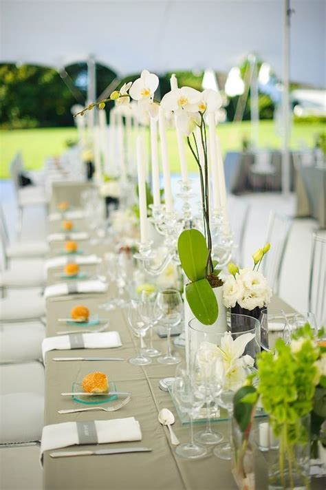 White Orchid Centerpieces Orchid Wedding Ideas White Orchid Centerpieces