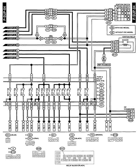 subaru sub fan relay subaru wiring diagrams wiring diagram