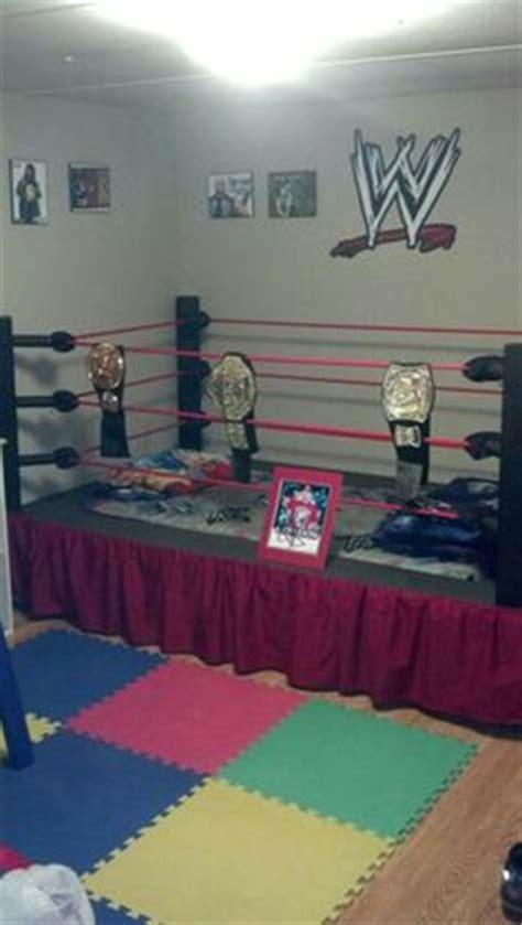wwe kids bedroom wrestling ring bed cool rooms pinterest go to sleep