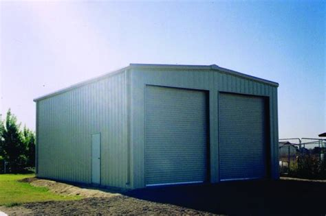 metal storage buildings and garages industrial shed