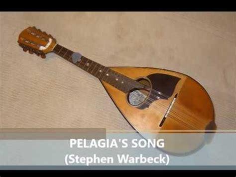 theme music captain corelli s mandolin pelagia s song on mandolin youtube