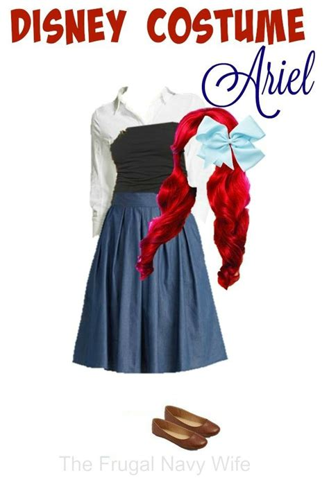 disney womens costume ariel   everyday clothes