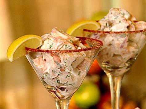 martini lobster lobster salad cocktail recipe the neelys food