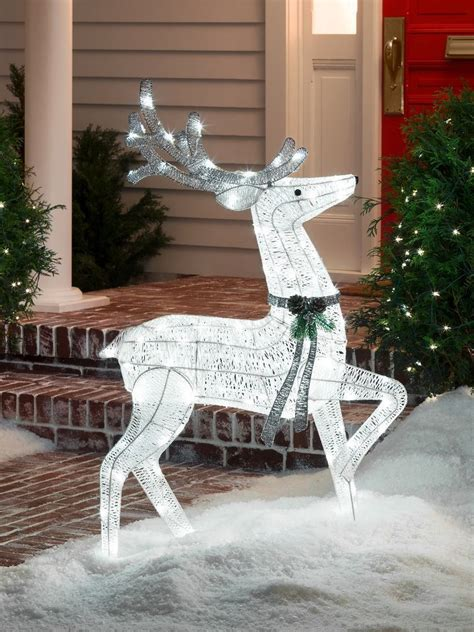 luxury indoor christmas reindeer decorations lighted