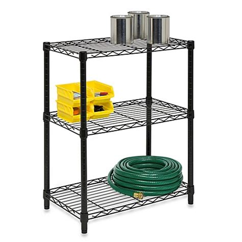 bed bath and beyond shelves honey can do 174 steel 3 tier shelving unit bed bath beyond