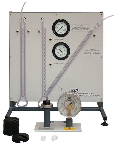 pressure measurement bench