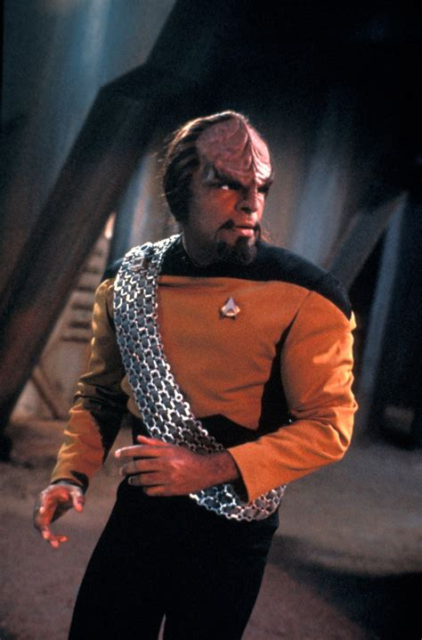 who plays the maon character in empire worf played by michael dorn is a main character in star