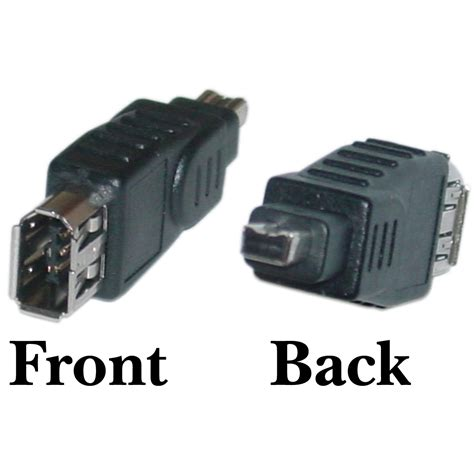ieee 1394a firewire adapter 6 pin to 4 pin ieee 1394a