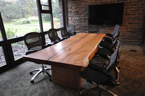 live edge conference table yelp