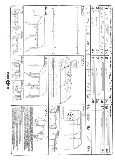 aufbauanleitung pavillon 3x3 aufbauanleitungen brunner s r l