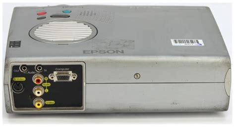 Lu Lcd Projector Epson epson emp 703 lcd beamer projektor 1000ansi lu c ware