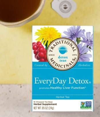 Detox Everyday by Everyday Detox 174 Traditional Medicinals
