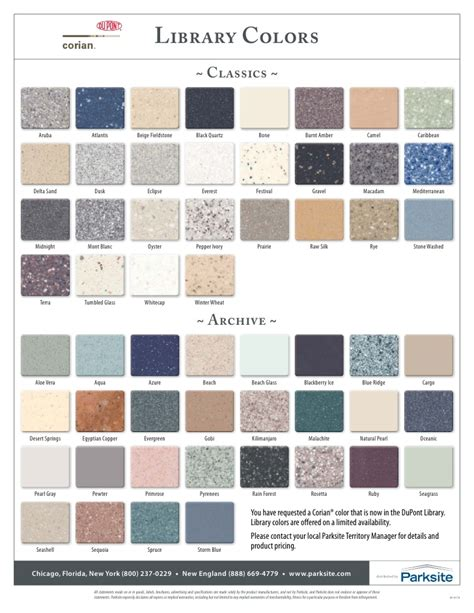 Corian Colors 2014 by New Corian Colors 2010