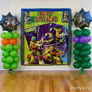 Ninja Turtle Birthday Decorations Teenage Mutant Ninja Turtles Party Ideas Party City
