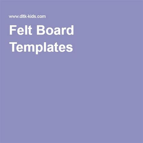 felt board templates felt board templates pinteres