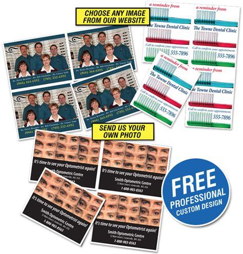 Dental Recall Card Templates by Laser Recall Cards Dental