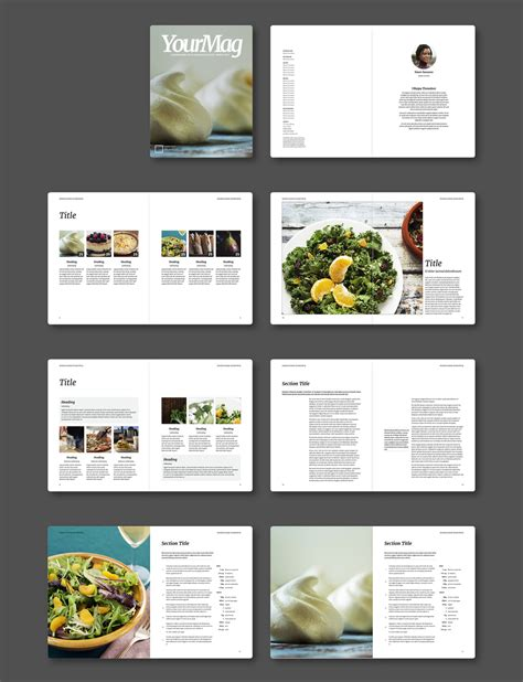 magazine layout template free indesign magazine templates creative cloud by