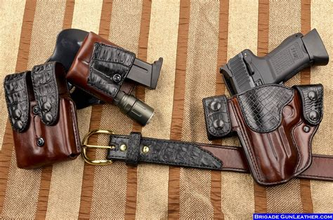 Handmade Gun Holsters - brigade gunleather review 1911forum