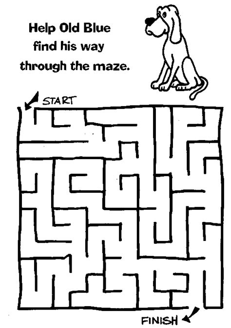 printable preschool worksheets mazes kindergarten maze worksheets free printable mazes for