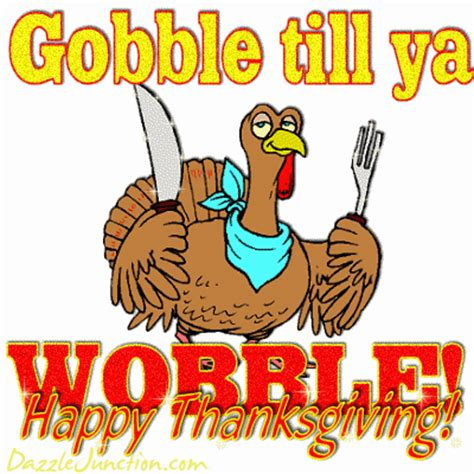 mighty distractible: gobble!