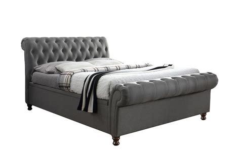 ottoman kingsize bed frame castellano grey kingsize ottoman storage bed frame