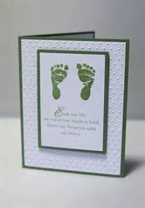 sympathy cards footprint and loss of child on