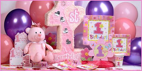 themes for girl 1st birthday party creative 1st birthday party ideas baby digezt