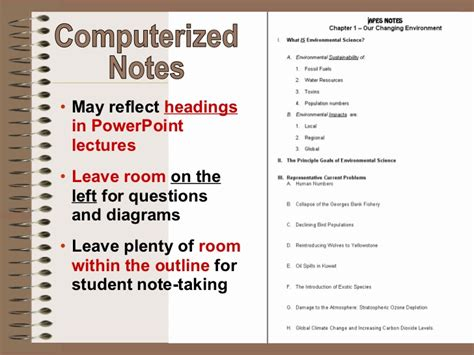 Cornell Notes Powerpoint Template by Cornell Notes Student Ppt