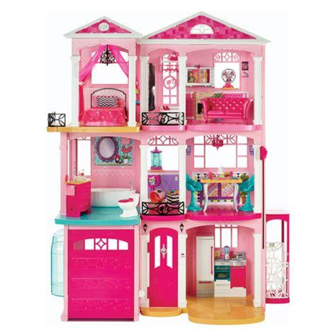 Barbie Doll Dream House Mattel Barbie Playsets At Entertainment Earth