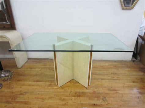 Dining Table Base Ideas Entrancing Design Ideas Of Glass Base Dining Tables Interior Design Inspirations
