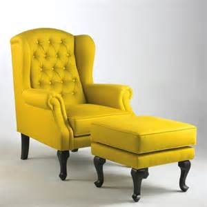 Wing Chair Recliner Design Ideas Fabolous Yellow Wingback Chair Design Ideas Rilane We