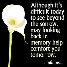 comforting messages for the bereaved encouraging quotes grief bereavement walker funeral