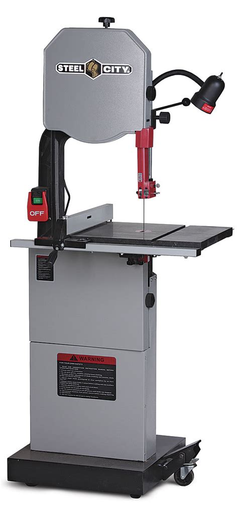 steel city woodworking tools steel city 50155g 14 in bandsaw finewoodworking