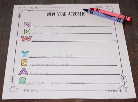 new year acrostic poems happy new year acrostic poem 28 images 1000 ideas