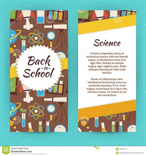 Science Flyer Template Free