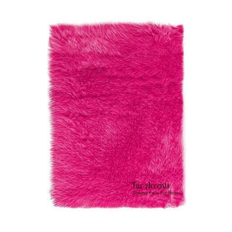 pink fur rug sale soft faux fur area rug pink shaggy shag by furaccents