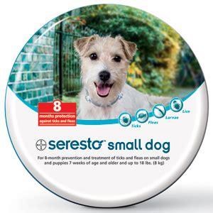 seresto flea and tick collar for dogs seresto flea and tick collar for small dogs vetdepot