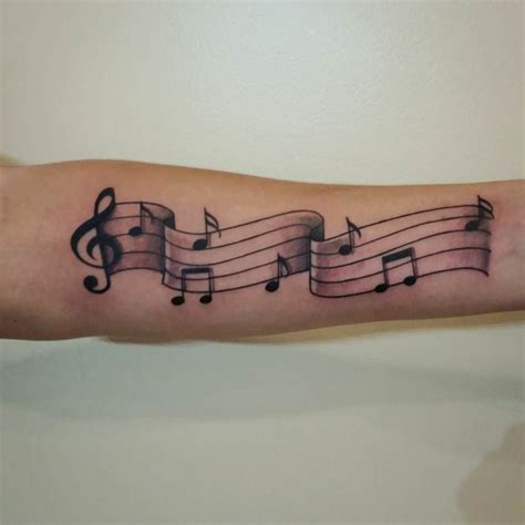 music sign tattoo design 24 note designs ideas design trends