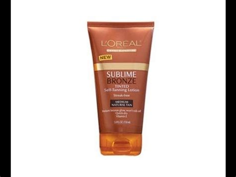 tanning l reviews loreal sublime bronze self tanning lotion doovi