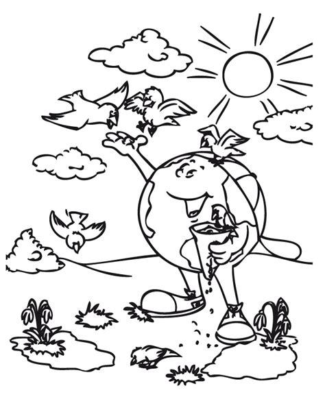 imagenes faciles para dibujar del medio ambiente paisajes para colorear del medio ambiente imagui