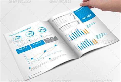 20 professional indesign annual report templates