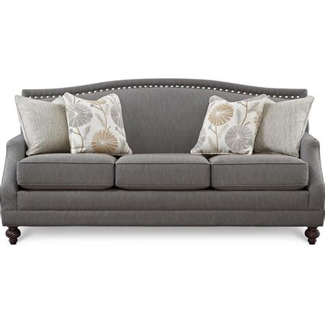 Gray Nailhead Sofa Gray Sofa With Nailhead Trim Velvet Gray Nailhead Sofa
