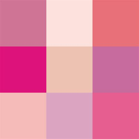 colors of pink file shades of pink png