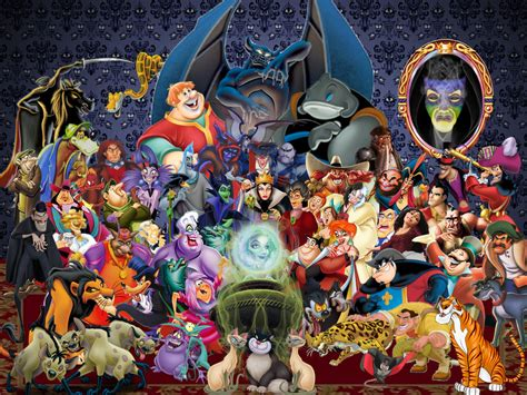 Wallpaper Disney Villains | disney villains wallpaper by disneyfreak19 on deviantart