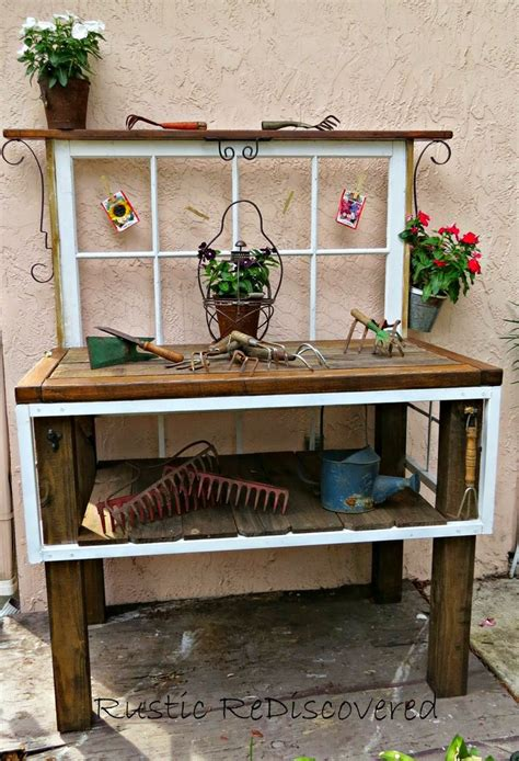 cute benches cute potting bench potting benches pinterest benches
