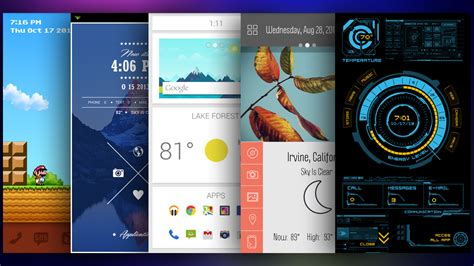 themes for non android phones the best themer themes to refresh and customise your