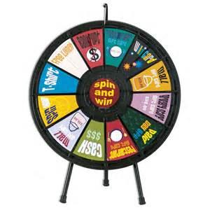 tradeshow  slot prize wheel positive promotions