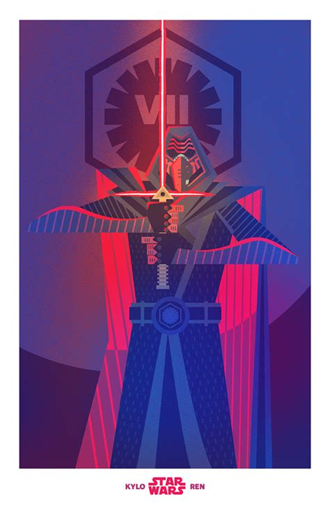 kylo ren fan art  behance